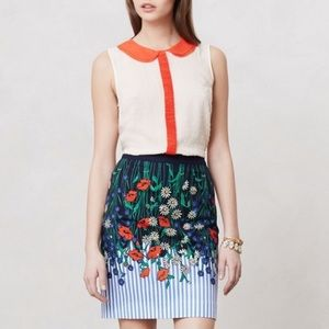 Anthropologie Skirts - Postmark Vertical Garden Floral Pencil Skirt!